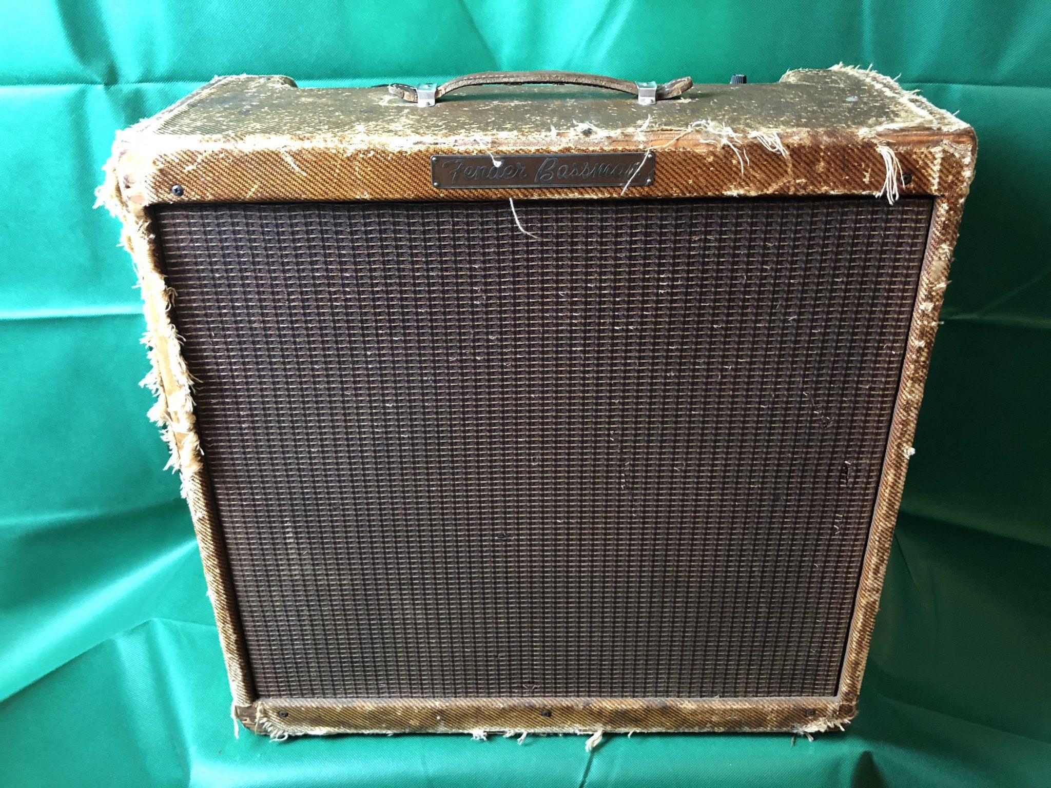 "Fender Bassman (1959) ""The Holy Grail"" – Harpsucker Amps & Parts"