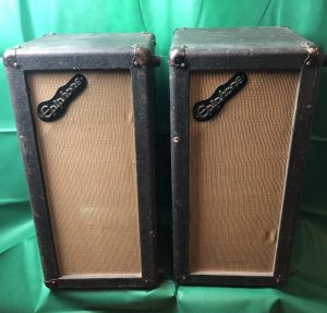 "<span class=""entry-title-primary"">Epiphone 2×10"" Speaker cabinets  (70's)</span> <span class=""entry-subtitle"">175,- each or 300,- € for both</span>"
