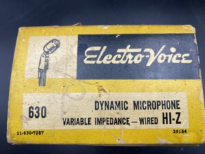 "<span class=""entry-title-primary"">Electro-Voice 630 (1960's)</span> <span class=""entry-subtitle"">200,- €</span>"