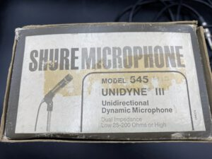 "<span class=""entry-title-primary"">Shure 545 (1960's)</span> <span class=""entry-subtitle"">175,-€</span>"